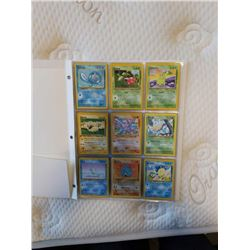 BINDER OF POKEMON CARDS