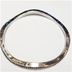 Silver Garnet Bracelet (~weight 22g), Suggested Retail Value $1200 (Estimated Selling Price from $18