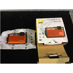 Nikon CoolPix AW120 Digital Camera