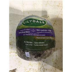 Lilydale Seasoned Fully Cooked Turkey Breast Roast