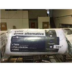 Down Alternative Queen Size Microfiber Comforter