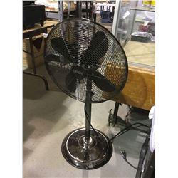 """Goon 16"""" Gunmetal Stand Fan"""