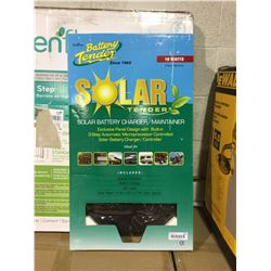 Solar Tender Solar Battery Charger (14  W x 28  L x 1 H)