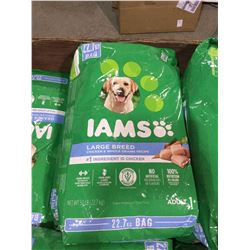Iams Large Breed Chicken and Whole Grain Recipe Adult Dog Food (22.7kg)