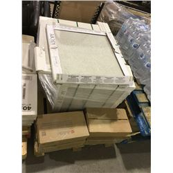 Lot of 29 Emil Group Tiles (40 x 80cm) 3/box and 4 Lots of Dal-Tile (11cm x 11cm) Ceramic Wall Tiles
