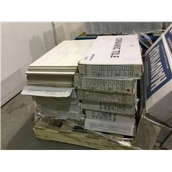 "Lot of 5 Villana Tiles (12"" x 24"" x 3mm) 18/box and 7Ceramic Tile (300 x 600mm) 8/box"