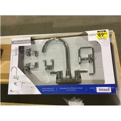 Moorefield4-Piece Bath Faucet and Accessory Set