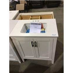 "Home Decorators Collection 30"" Vanity(Freight claim)"