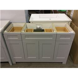 """48"""" Vanity cabinet no top (Freight claim)"""