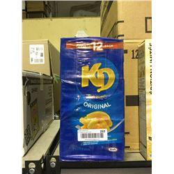 Case of Kraft Dinner Original (12 x 225g)