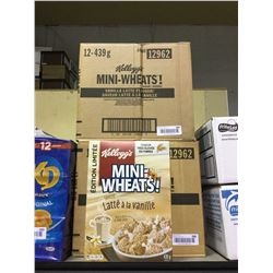 Case of Mini-Wheats Vanilla Latte Flavor (12 x 439g)