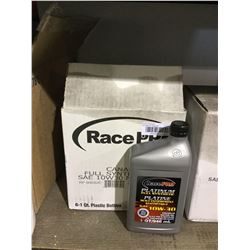 Case of Race Pro Platinum Full Synthetic SAE 10W-30 Motor Oil (6 x 946mL)