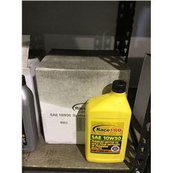 Case of Race Pro SAE 10W-30 Motor Oil (6 x 946mL)