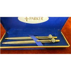 PARKER PEN & PENCIL SET IN PRESENTATION CASE