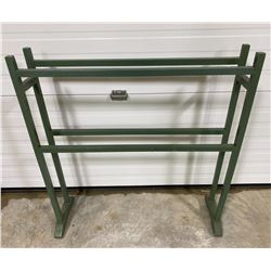 PAINTED QUILT RACK