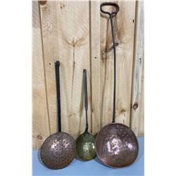 BRASS / COPPER FORGED LADLES