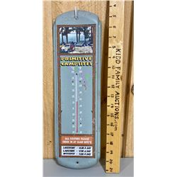 VINTAGE LOOK TIN THERMOMETER