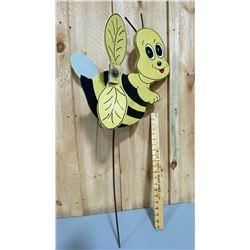 FOLK ART WHIRLIGIGS - BUMBLE BEE