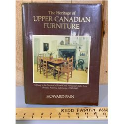 UPPER CANADA FURNITURE REFERENCE BOOK BY HOWARD PAIN