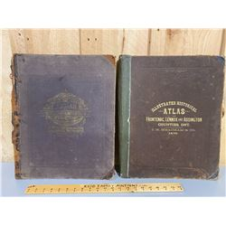 1878 - 2 BOUND ILLUSTRATED ATLASES