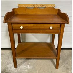 ANTIQUE DOUGH BOARD STYLE SIDE TABLE