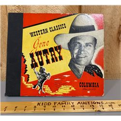 COLLECTION OF GENE AUTRY RECORDS