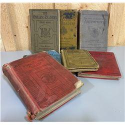 LOT OF 7 ONTARIO SCHOOL BOOKS - 1916