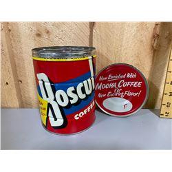 VINTAGE BOSCUL COFFEE TIN