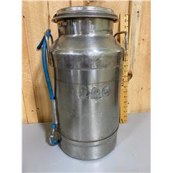 JOHN WOOD STAINLESS 20 QT CREAM CAN