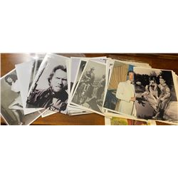 LARGE QTY MOVIE THEMED PHOTOS - 1950's & 60's
