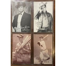 SET OF 1950 - 60 TRADING CARDS