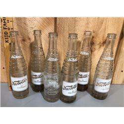 LOT OF NESBITT'S SODA POP BOTTLES FROM CALIFORNIA