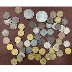 LOT OF MISC GERMAN COINS