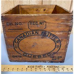 CANADIAN BUTTER BOX - QUEBEC