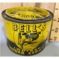 BELL'S UDDER CREAM TIN