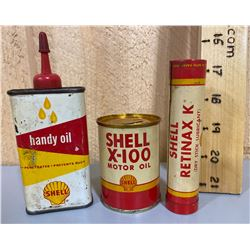 SHELL HANDY OILER & BANK & LUB STICK