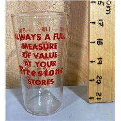 FIRESTONE GLASS MEASURING CUP