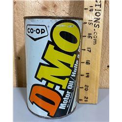 CO-OP DMO MOTOR OIL TIN