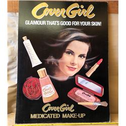 LARGE COVER GIRL CARDBOARD DISPLAY SIGN