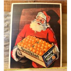 SUNKIST CHRISTMAS CAMPAIGN POSTER