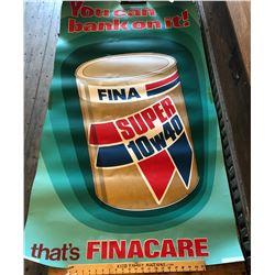 "FINA POSTER - 34"" X 64"""
