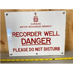 CANADIAN WATER RESOURCES SSP SIGN
