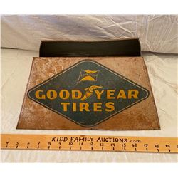 GOODYEAR TIRE TIN TIRE STAND