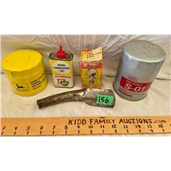 LOT OF 5 MISC GAS / OIL ITEMS