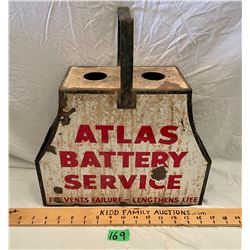 ATLAS BATTERY SERVICE CADDY W/ SSP SIGNS