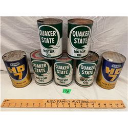 LOT 7 OF MISC OIL CANS