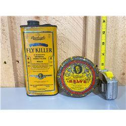 1930 - 40's RAWLEIGH'S TINS
