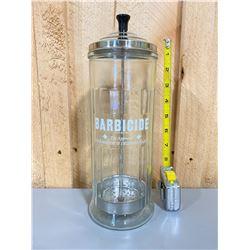 VINTAGE BARBER SHOP DISINFECTING JAR