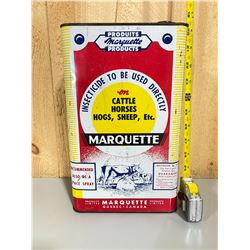 MARQUETTE INSECTICIDE TIN