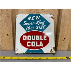 """DOUBLE COLA BOTTLE RACK TOPPER - 6"""" X 6"""" SST"""